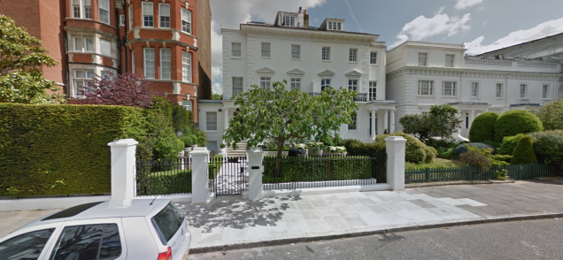 The parent trap house location global film locations for 23 egerton terrace kensington