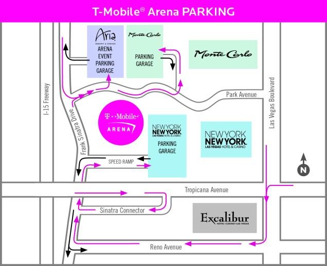 Tmobile Arena Location  Global Film Locations